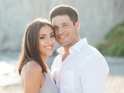 "Joelle & Jason: ""It was a magical first date that lasted 14 hrs!"""