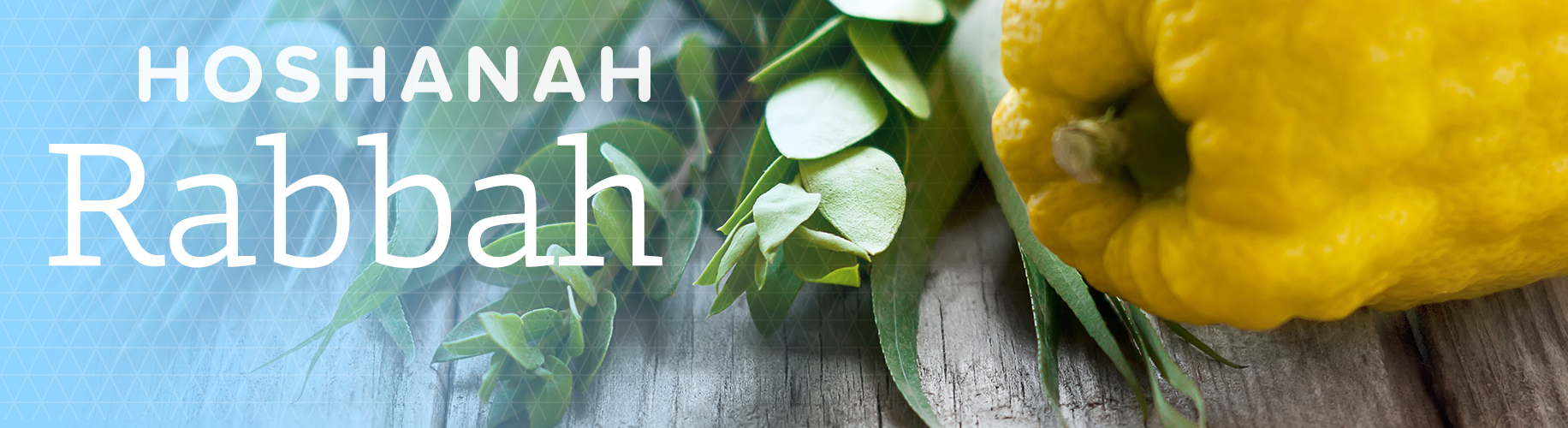 Hoshanah Rabbah Jewish Holiday Information